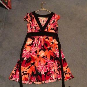 Professional floral dress